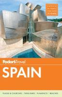 Fodor's Spain 2015