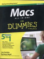 Macs all-in-one for dummies 4th edition