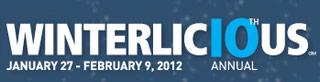 Winterlicious 2012