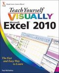 Teach yourself visually Microsoft Excel 2010