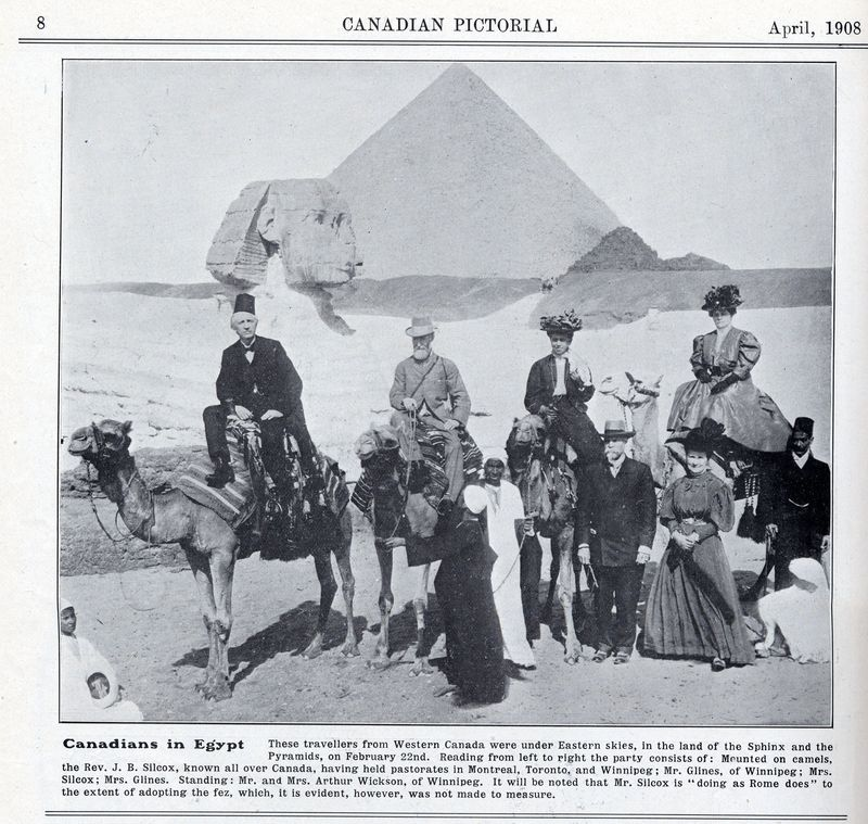 Canadians in Egypt 1908