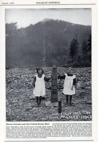 Canada US Border 1908