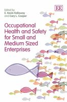Occupational health and safety small and medium enterprises
