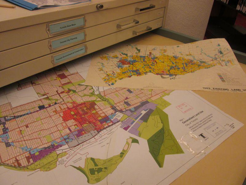 Toronto Land Use maps