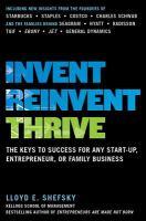 Invent Reinvent Thrive