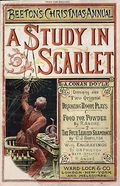 A Study in Scarlet; The first appearance of Sherlock Holmes in print and one of the rarest items in the Library's collection