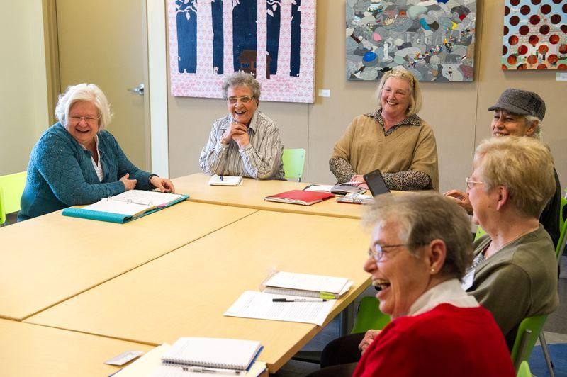 Seniors Memoir writing-program