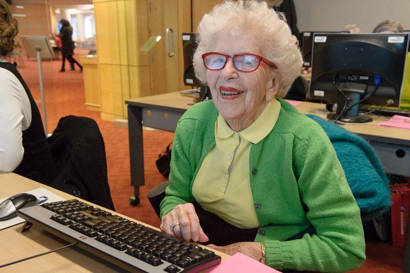 Seniors drop in program