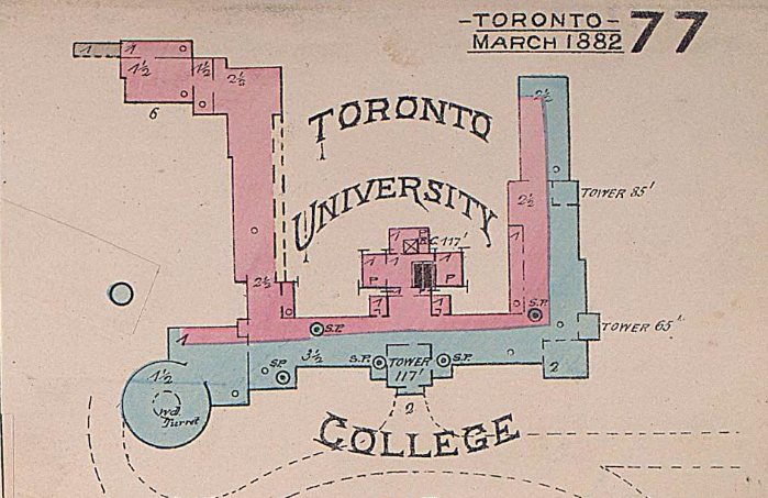 Plan of University of Toronto