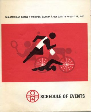 Pan Am Schedule of events 1967