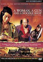 Woman gun noodle soup
