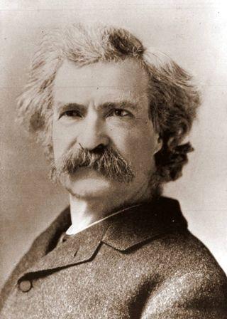 Mark Twain 1884