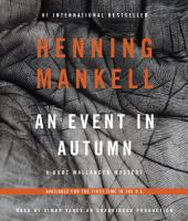 An event in autumn Talking Book