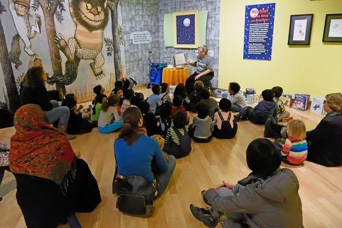 Sendak Storytime in the TD Gallery