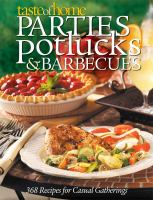 Parties, potlucks and barbecues