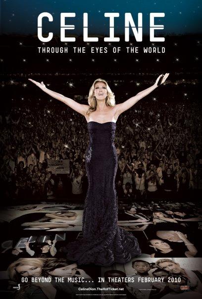 Celine Through the Eyes of the World DVD
