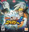 Naruto shippunden ulitmate ninja storm 4 game cover