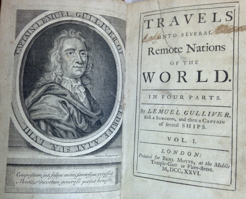 Gullivers Travels Third Edition 1726