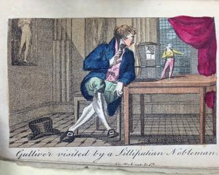 Benjamin Tabart Gullivers Travels Lilliput