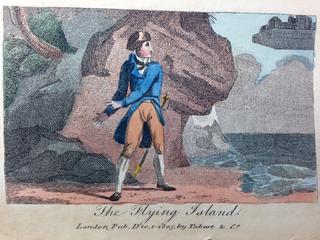 Benjamin Tabart Gullivers Travels Flying Island