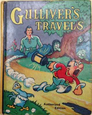 Gulliver's Travels Jumbo Book 1939