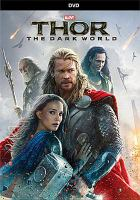 Thor The Dark World DVD Cover
