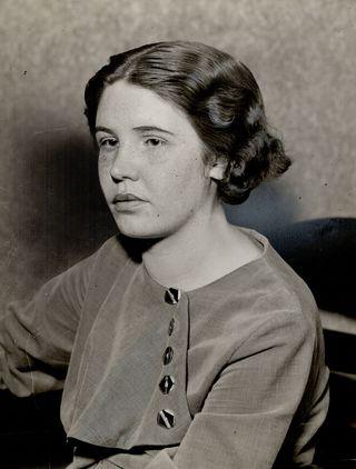 Mrs. X [Pauline Mae Clarke] 1936