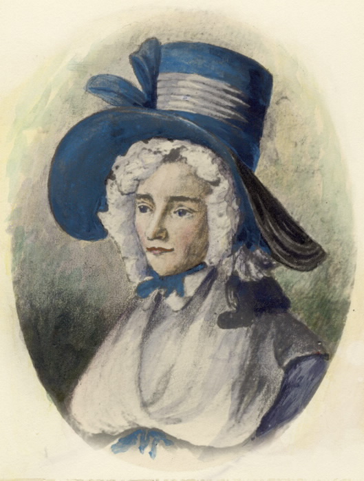 Elizabeth Posthuma (Gwillim) Simcoe, 1762-1850 circa 1790