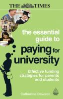 The essential guide to paying for university