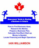 Newcomers Guide to Starting a Business in Ontario