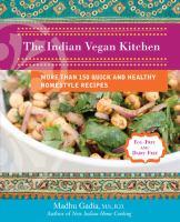 Indian vegan kitchen