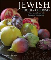 Jewish Holiday Cooking