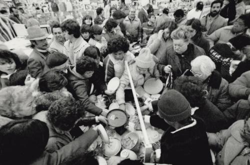 Honest Ed's Bargains Boxing Day 27 December 1986