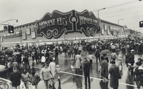 Honest Ed's Mr T 1984