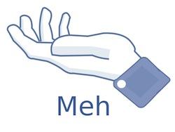 Meh Facebook Button