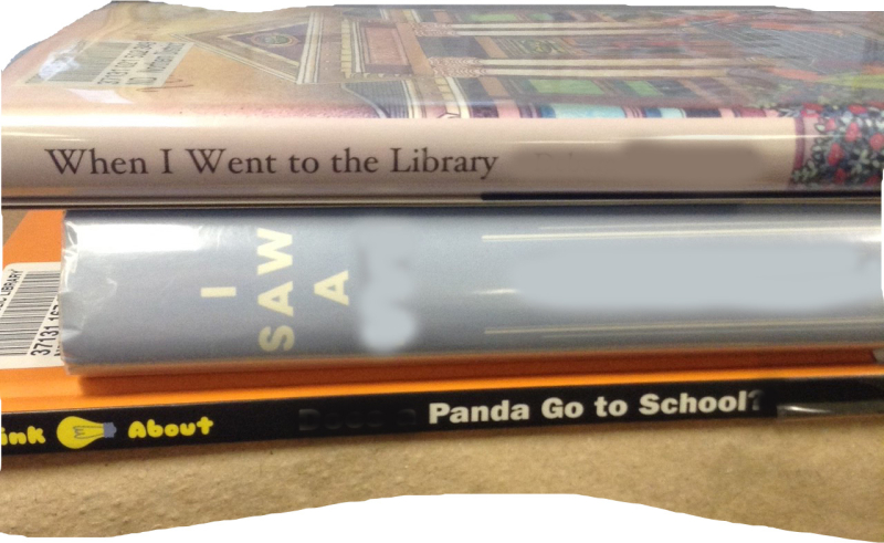 When I went to the library