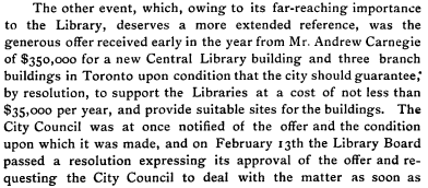 Excerpt from Toronto Public Library Annual Report 1903#1