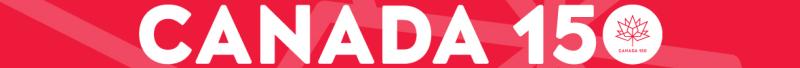 Canada 150 banner
