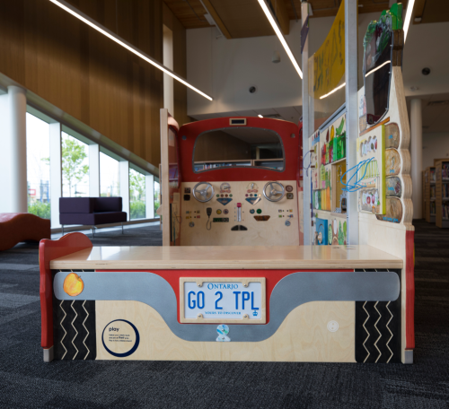 KidsStop Truck at Albion