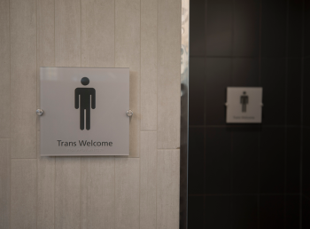 Inclusive Bathroom Signs