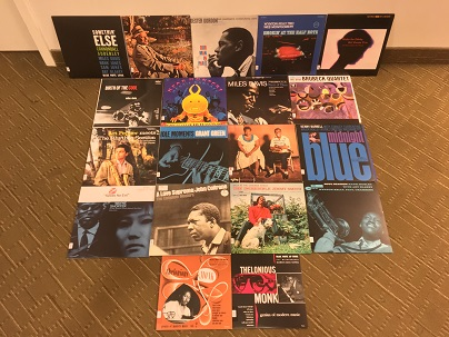 some new jazz vinyl at Toronto Reference Library