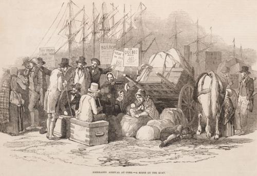 Depopulation of Ireland 1851