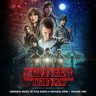 Stranger Things soundtrack  CD cover