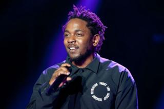 Kendrick Lemar at MTV Video Music Awards 2017