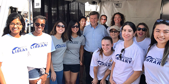 TPL Staff with Mayor Tory