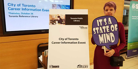 TPL at City of Toronto Career Information Event