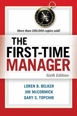 The first-time manager by Loren Belker