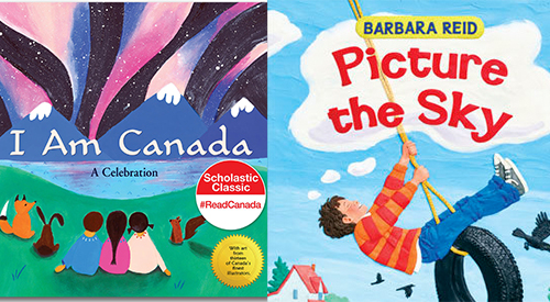 First and Best books I am Canada and Picture the sky