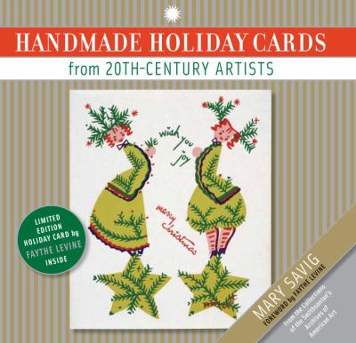 Book cover showing a holiday card