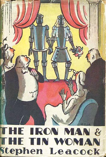 Illustrated cover of The Iron Man and the Tin Woman